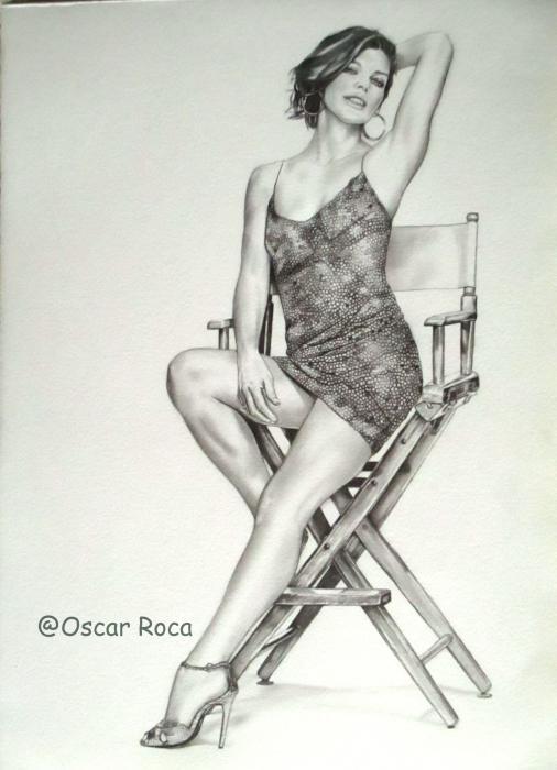 Milla Jovovich por oscar